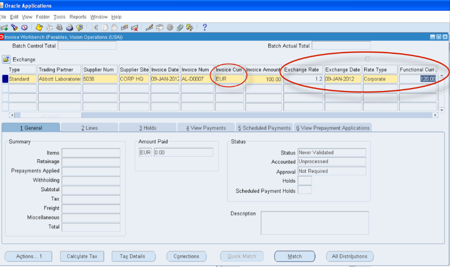 Foreign Currency In Oracle E Business Suite The Basics