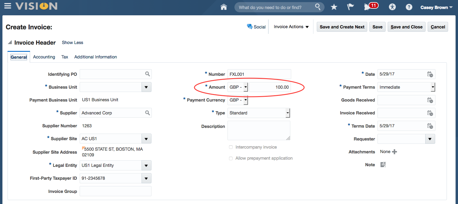 Foreign Currency in Oracle ERP Cloud – The Basics | FXLoader